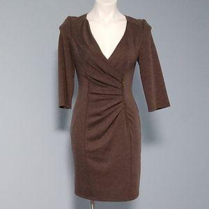 Jessica Simpson Ponte sheath Dress size 4